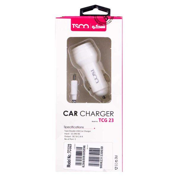 CAR CHARAGER TCG-23