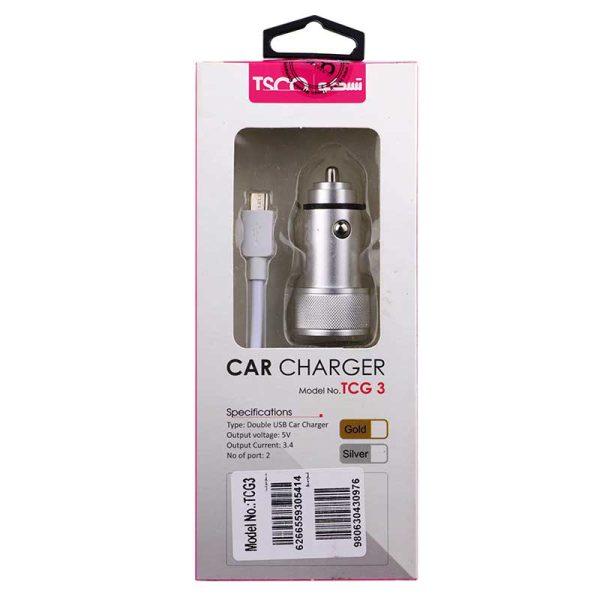CAR CHARGER TCG-3