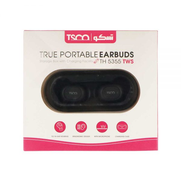 TRUE PORTABLE EARBUDS TH-5355TWS