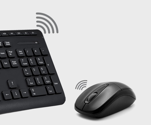Keybord & mouse TKM-7108W