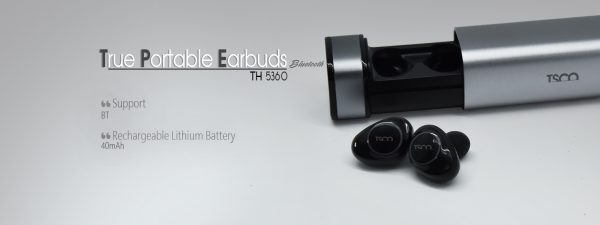 TRUE PORTABLE EARBUDS TH5360