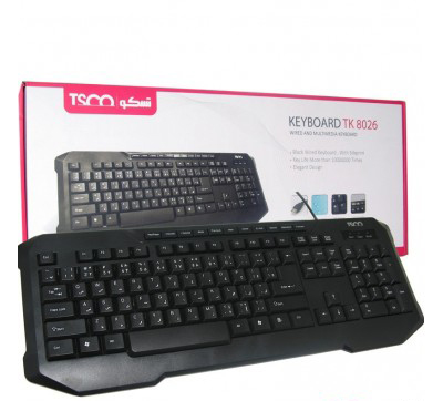 Keybord WIRED TSCO TK-8026