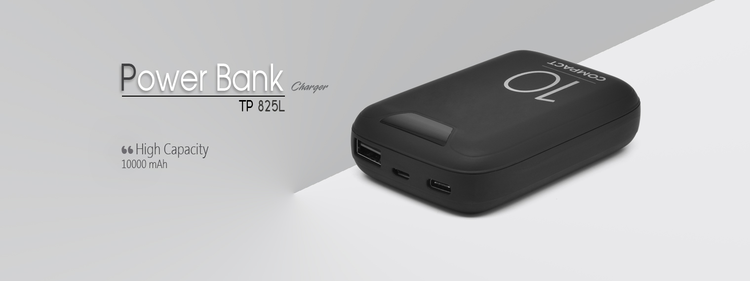 PORTABLE POWER BANK TP 825L