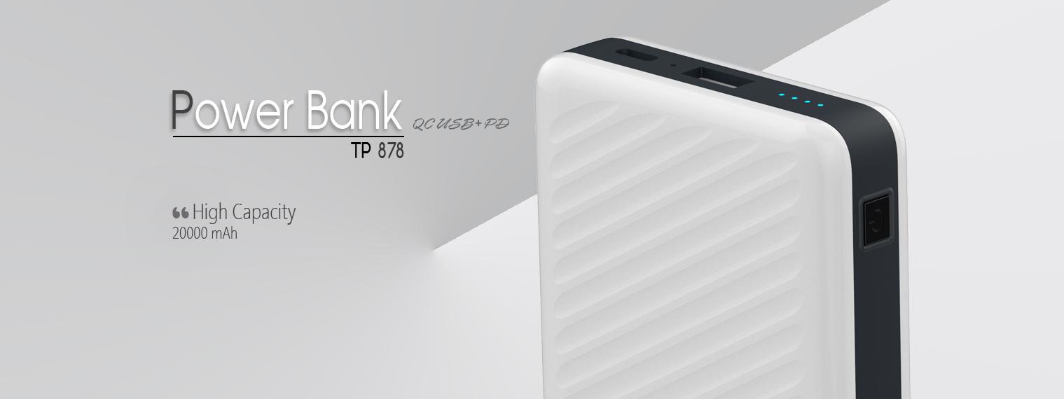 PORTABLE POWER BANK TP 878